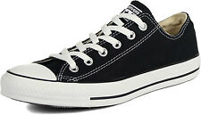 New Converse All Star Chuck Taylor Canvas Ox Black Unisex Low Shoes M9166