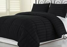 COMFORTER SETS 1000 TC PREMIUM EGYPTIAN COTTON BLACK AVAILABLE IN ALL SIZE