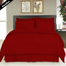 COMFORTER SETS 1000 TC PREMIUM EGYPTIAN COTTON  AVAILABLE IN ALL SIZE -RED