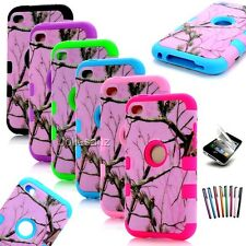 For iPod Touch 6th 4th 4 5th Case Cover Heavy Duty Hybrid shockproof Protective