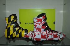 Under Armour Mens Highlight LIMITED EDITION MARYLAND Football Cleats Black NIB