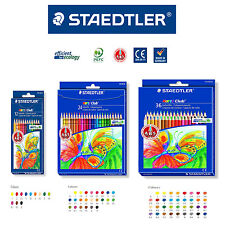 STAEDTLER Noris Club coloured pencil smooth soft painting - 12, 24, 36 COLOR SET
