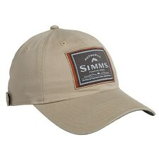 Simms Single Haul Fly Fishing Woven Patch Hat Cap UPF 50+ Choose Color - NEW!
