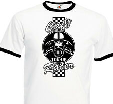T-SHIRT CAFE RACER Vintage Motorcycle Custom Motard Biker Norton BSA Triumph BMW