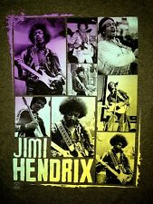 New! Jimi Hendrix 8 Photos Singer Guitarist Classic Rock Licensed Adult T-Shirt