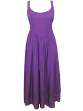 eaonplus RENAISSANCE Embroidered PRINCESS Dress PURPLE Sizes 14/16 to 30/32