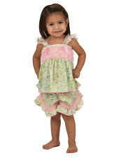 Laura Dare Garden Fairy Frilly Pajama Short Set (2T - 6x)
