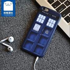 Cool Doctor Who Tardis Phone Case for Iphone 6s for Samsung S6 Phone cover Case