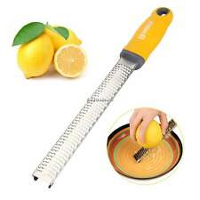 Homox Multipurpose Zester Grater for Lemon/Citrus/Cheese Stainless Steel ESY1