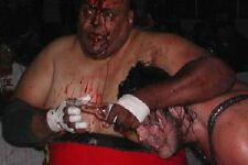 Abdullah The Butcher - WWE / WWF Wrestling poster print picture photo 009