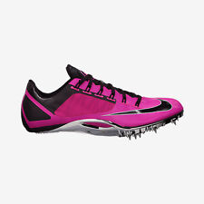 NIKE ZOOM SUPERFLY R4 Track Running Spike Cleats Shoes black pink SIZE 12.5 15