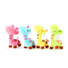 Lovely Cute Kids Child Giraffe Gift Soft Plush Toy Baby Stuffed Animal Doll BE