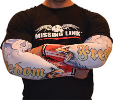 Missing Link Arm Pro American Freedom Cooling SPF 50 Compression Sleeves
