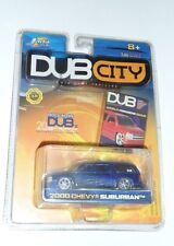 Jada Toys Dub City Die Cast Vehicles 2000 Chevy Suburban 1:64 Scale NIB HTF