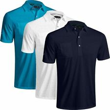 Mizuno Golf 2016 Digital Jaquard Drylite Modern Mens Performance Golf Polo Shirt