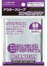 Epoch Outer Character Matte Clear Card-barrier Sleeves (60 ct.)