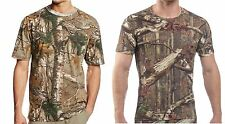MENS CAMO CAMOUFLAGE T SHIRT COMBAT  ARMY FISHING HUNTING TOP VEST S-5XL