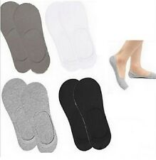 3,6,12 Pairs Mens Invisible liner  No Show Secret Footsies Trainer Socks 6-11
