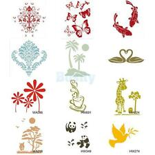 Wall Painting Stencil Plastic Mural Home Improvement Craft Wallpaper Decoration