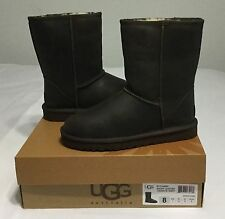 Women UGG Australia Classic Short Leather 1005093 Brownstone Sz 7 8 9  New!