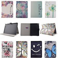 SLIM MAGNETIC LOCK CARD HOLD STAND Folio Flip Leather Cover Case For Apple iPad