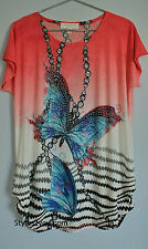Pretty Angel Clothing Vintage Apparel Tristan Top In Pink ONE SIZE 10597