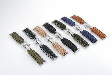 Nylon Rope Survival Strap Bracelet Watch Band For Apple Watch 38MM 42MM #GY