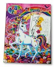 Lisa Frank Color and Trace Book