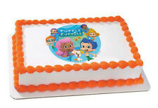Bubble Guppies edible image custom cake topper frosting sheet icing #35339