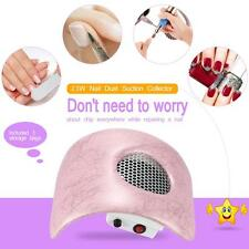 Nail Dust Suction Collector Fingernail Dirt Collection Machine Pink X6F1
