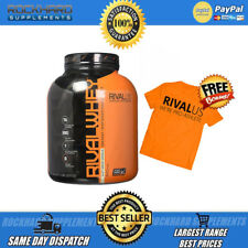 RIVALUS RIVAL WHEY LEAN PROTEIN MUSCLE BUILDER 5LB 2.3KG AMAZING TASTE 5LBS