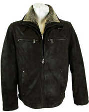 David Moore Men's Leather Jacket Real Leather Jacket dark brown leather new 6702