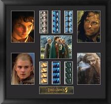 Lord of the Rings Faces Mixed Large Film Cell Montage