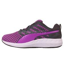 Puma Flare Wns Purple Grey Womens Running Shoes Sneakers Trainers 188626-04