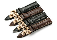 20mm 21mm Genuine Calf Leather Watch Band Strap For Vacheron Constantin Watch