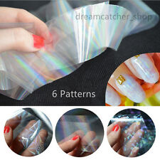 120cm Starry Sky Glitter Nail Foils Wraps Holographic Nail Art Transfer Stickers