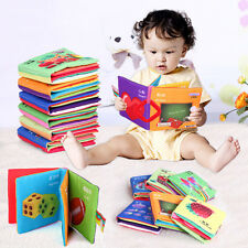 Intelligence development Cloth Cognize Book Educational Toy for Kid Baby US zws