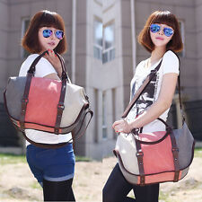 Women Canvas Handbag Shoulder Bag Fashion Messenger Hobo Bag Tote Purse Satchel