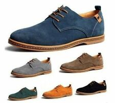 New Fashion Suede European Style Leather Shoes Men's oxfords Casual Best Gift