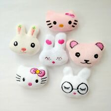 10pcs/lot Plush animal hair accessories hair clips for kid baby girls barrettes