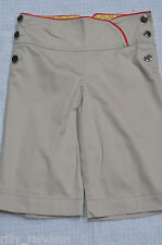 Older Girls Beige Long Length Shorts UK Age 9 Years from Next