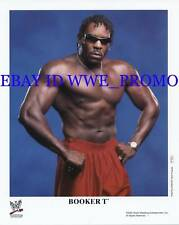 TNA WWF WWE LICENSED PROMO P-722 PHOTO 8x10 BOOKER T