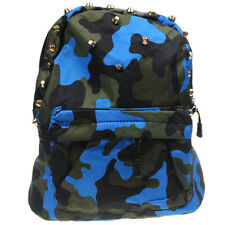 Kids Girls Boys Camouflage Camo Rivet Kindergarten School Bag Backpack Satchel