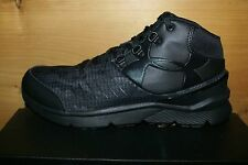 Boys Under Armour Basketball Shoes Sneakers Camo Black BGS Overdrive Mid
