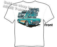 Corvette Shirts Chevy T Shirts Corvette Apparel Chevrolet Clothing Classic 1957