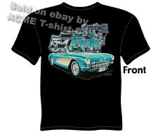 Corvette T Shirts Chevy Shirt Corvette Clothing Chevrolet Apparel Classic 1957