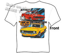 69 Camaro T Shirts 1969 Chevy Shirt SS Chevrolet Clothing Muscle Car Apparel Tee