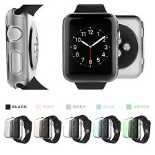 For Apple Watch Ultra Slim Clear Screen Protector Snap-On iwatch Case Hard Cover