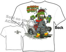 Rat Fink Shirts Hot Rod Clothes Ford Shirt Ed Roth Mothers Worry 1933 1934 33 34