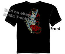 Tattoo Shirt Lady Luck T Shirts Lucky Tattoo Devil Girl Tee Sz M L XL 2XL 3XL
